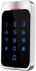 Metal IP65 water-proof access control Digital backlit touch keypad