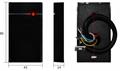 Waterproof IP67 RFID External Door Access Control Reader with LED light/Buzzer