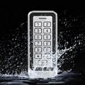 Waterproof Metal Case Outdoor Standalone Door Entry Keypad