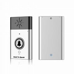 Mini Home Smart Wireless Doorbell With Voice Intercom 300m  Remote Control
