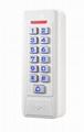 metal access control standalone for two doors, support card, pin,card+pin access