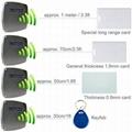 Economical 1 meter rfid reader,EM card,popular use for car parking