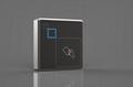 Metal housing proximity card reader