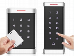 Intelligent 2000 Users 125KHz Standalone Rfid Metal Touch Keypad Door Acce