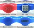 WRF 001 Smart proximity EM ID access control rfid silicone wristband