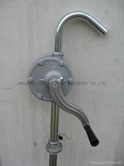 Aluminum hand rotary pump