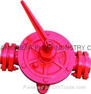 semi rotaray hand wing pump