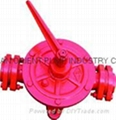 semi rotaray hand wing pump