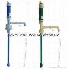 Barrel water pump