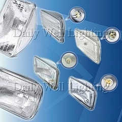 Rectangular Sealed Beam Lamp