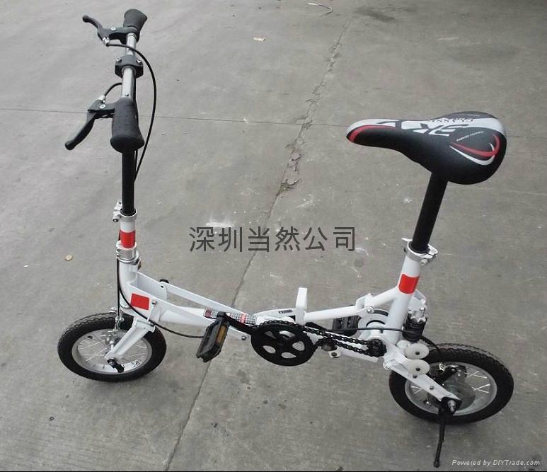 折疊起來最小的12寸自行車 4