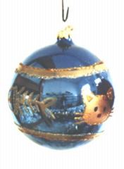 供應各種規格的玻璃聖誕球
