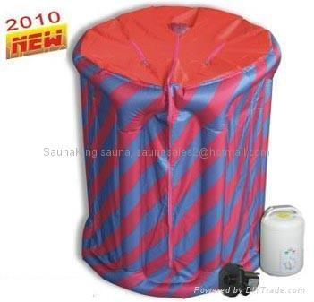 inflatable steam sauna, mini steam bath