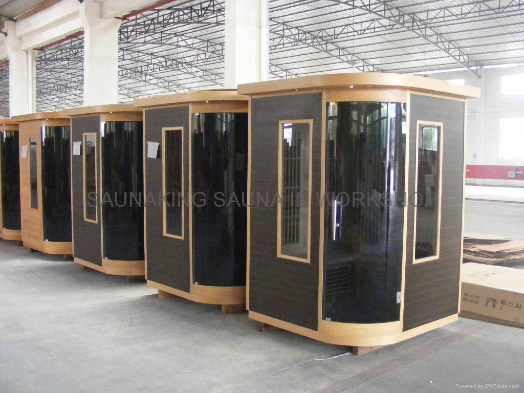 2persons infrared sauna room KY-AH273 3
