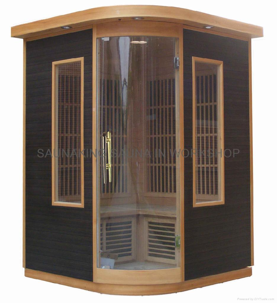 2persons infrared sauna room KY-AH273 4