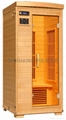 cherry surface of wood infrared sauna