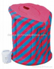 inflatable portable steam Sauna for family as hot therapy sauna dome