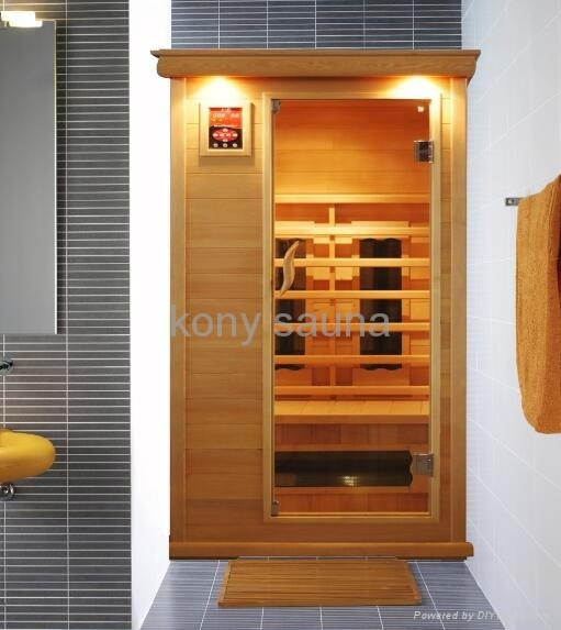 1 person sauna,hemlock