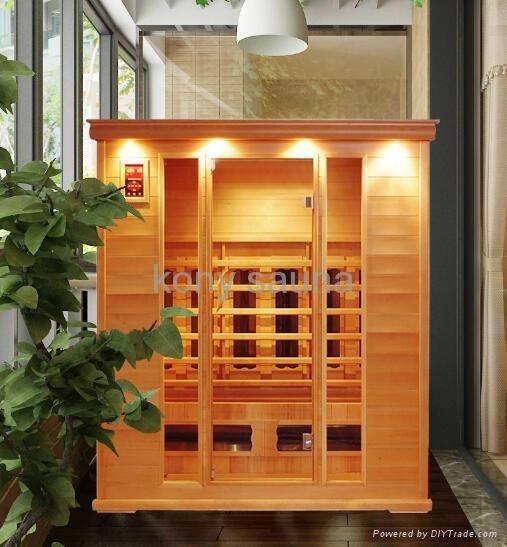 4 person sauna,hemlock