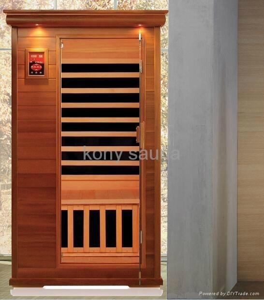 1 person sauna,cedar wood