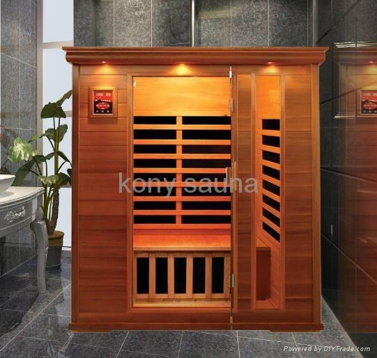 3 person sauna,cedar wood