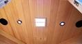 Classic square far infrared cabin sauna