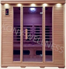 New Far Infrared sauna room, 4person size