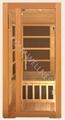 smallest canada hemlock wood sauna