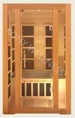 simplest carbon Far infrared sauna