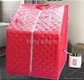 portable steam sauna with cloth bathtub
