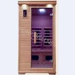 smallest combined heater Far infrared sauna
