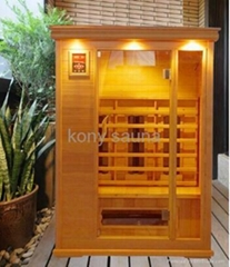 sell far infrared sauna room, 2 people use