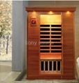 portable cedar wood sauna from China