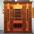square cedar wood sauna from China