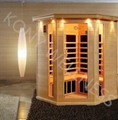 hemlock corner far infrared sauna from China