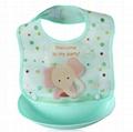 children care products silica gel baby bib