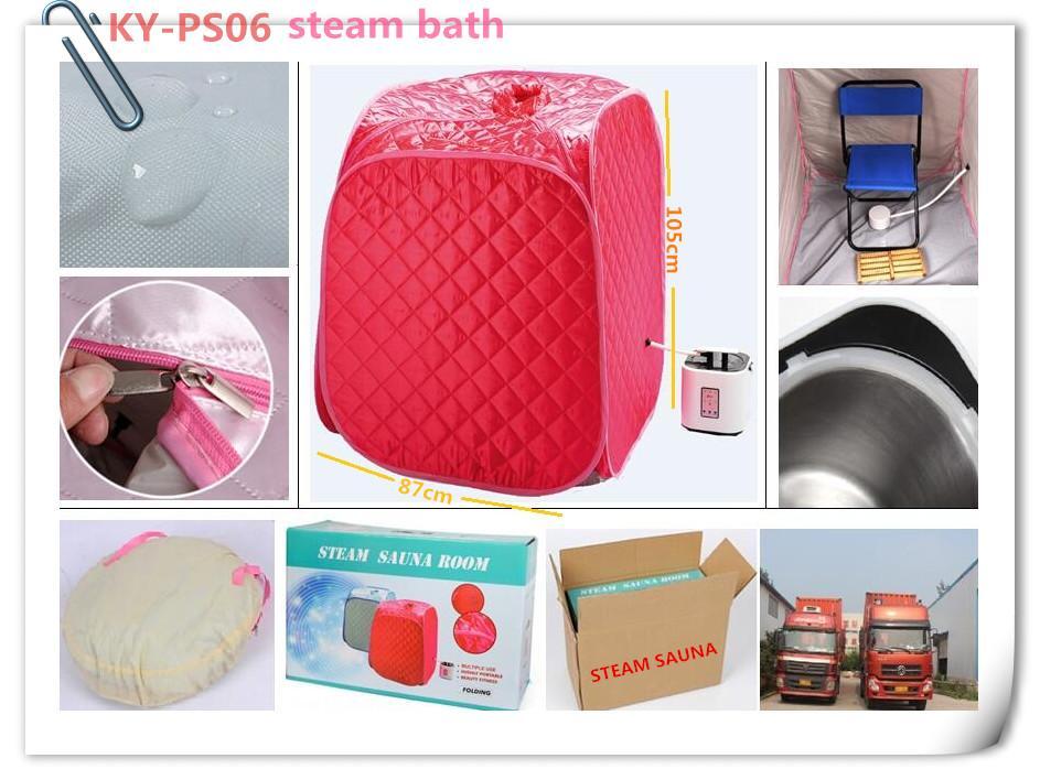 steam sauna package