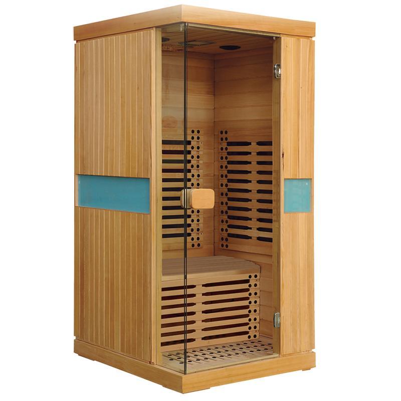 newest Far Infrared Sauna Room made of hemlock or cedar  1