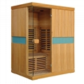 200cm Height Far Infrared Sauna House for 3 Person