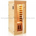the smallest Far Infrared Sauna room for 1 person full body use