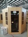 big Traditional Finnish Sauna with HARVIA stove