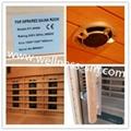 Far Infrared Dry Sauna Room Made of Canada Hemlock 2