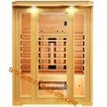 Far Infrared Dry Sauna Room Made of Canada Hemlock 1