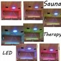 Far Infrared Dry Sauna Room Made of Canada Hemlock 4