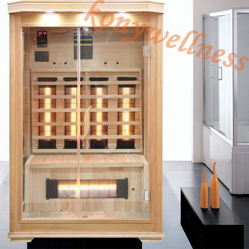 personal care far infrared sauna room for 2 people 1