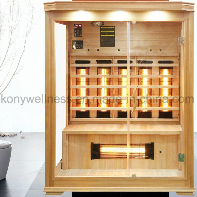 square dry sauna,3 person size