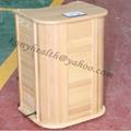 far infrared Foot Sauna the half body sauna room 3