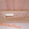 hemlock corner far infrared sauna room