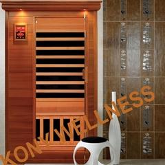 smallest canada cedar wood cabin sauna