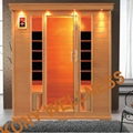 hemlock square far infrared cabin sauna